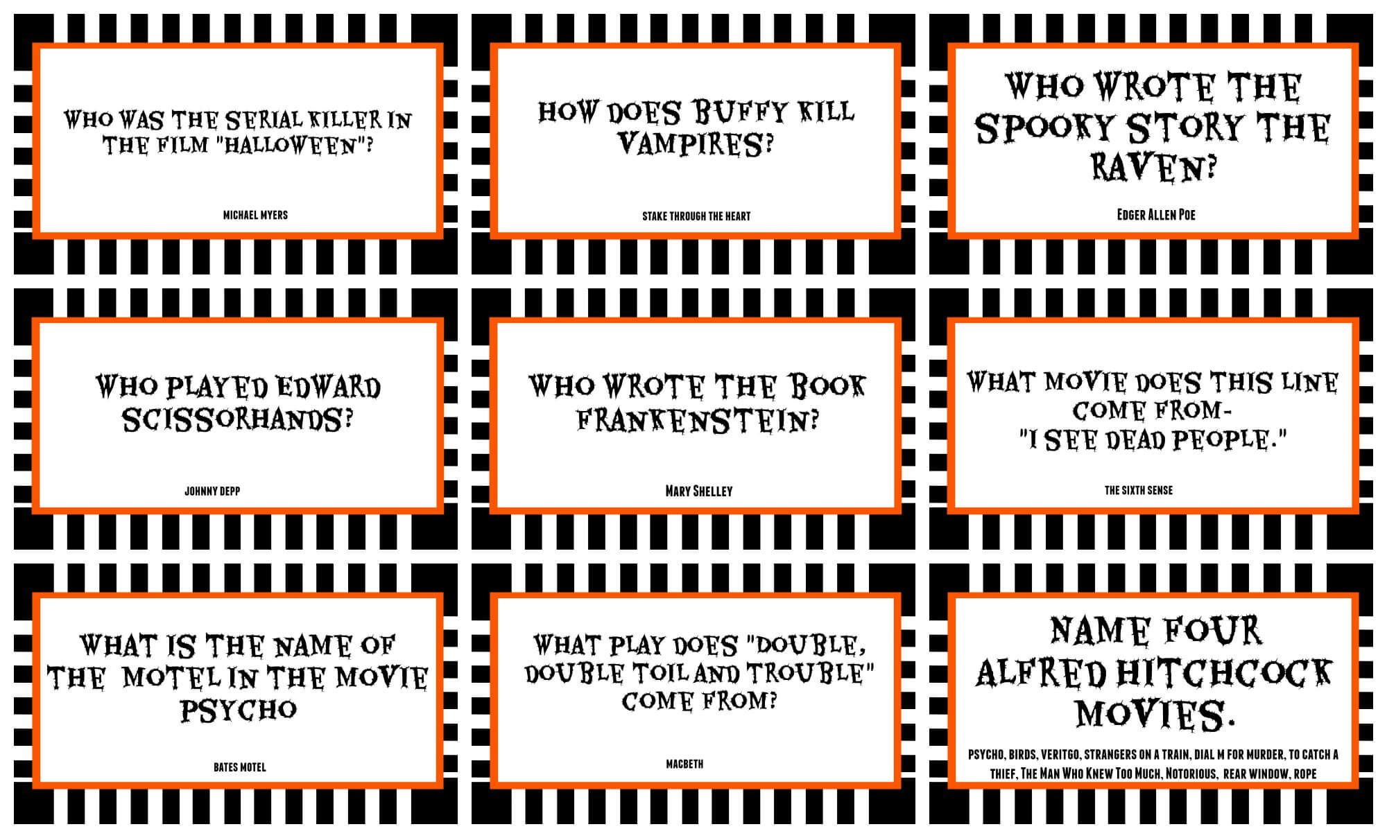 halloween movie trivia questions and answers Google
