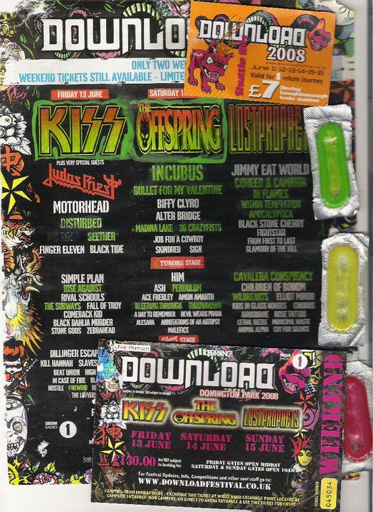 Download Festival - 2008  | Gig Wall | Comic books, Books, Cover