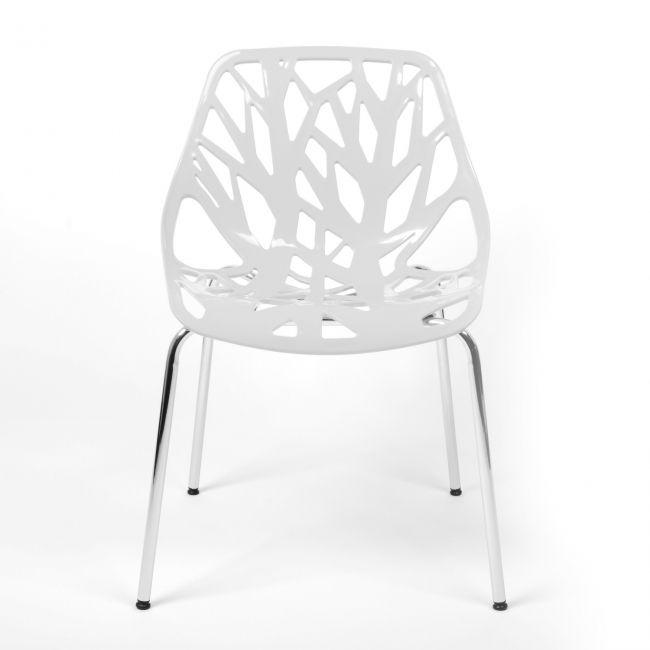 Eetkamerstoel tree is een design stoel tijdens het for Design eetkamerstoelen wit