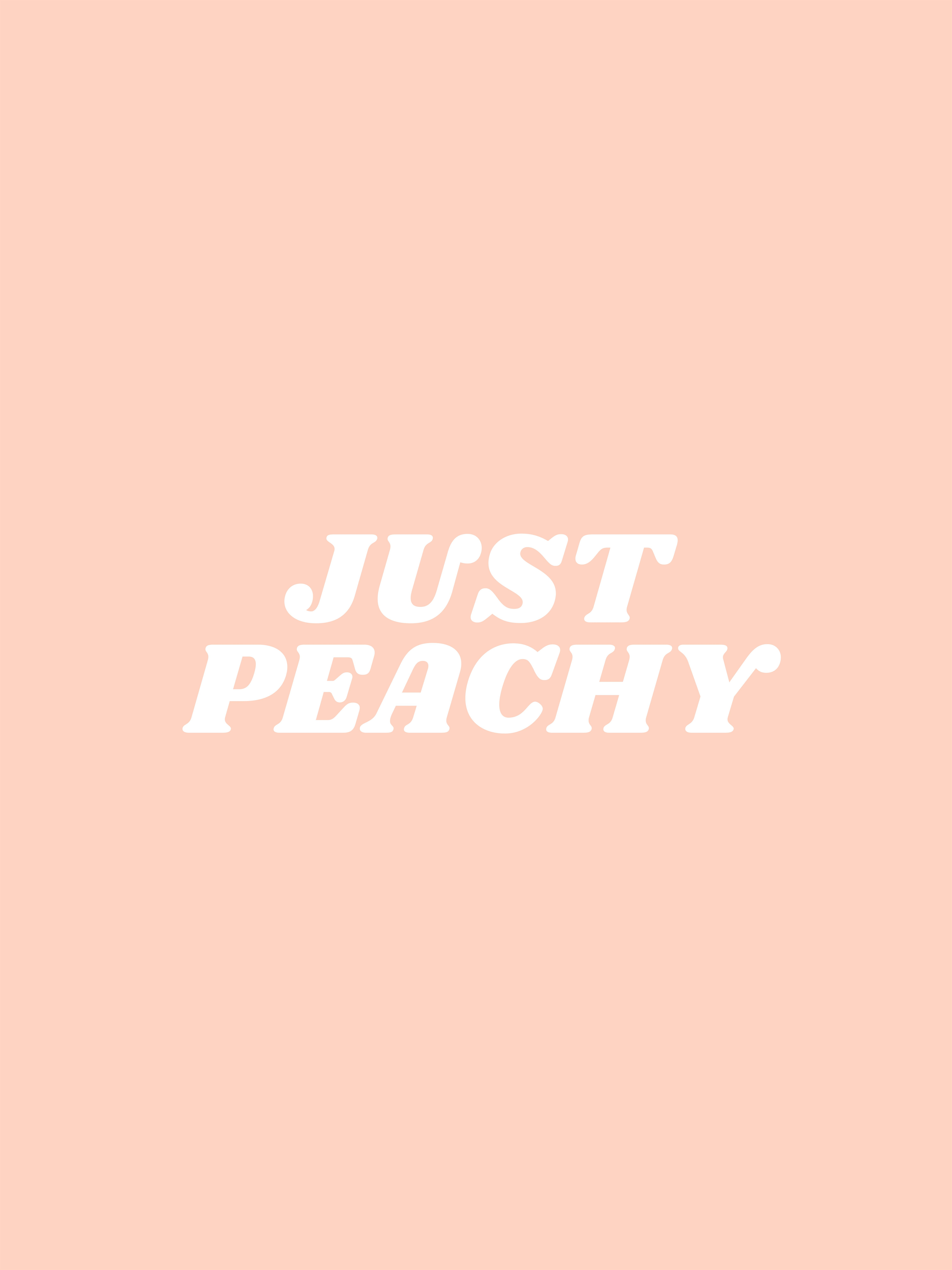 Just Peachy Wall Collage Just Peachy Art Collage Wall
