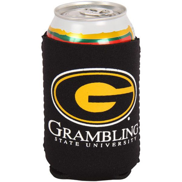 Grambling Tigers Collapsible Can Cooler - Black - $4.99