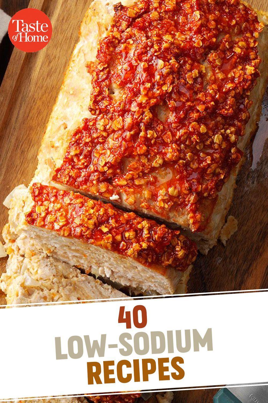 #Healthy Recipes Lunch #Heart #Kind #LowSodium #Recipes 40 Low-Sodium Recipes