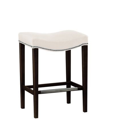 Hickory Chair Stools Madigan Backless Counter Stool from the