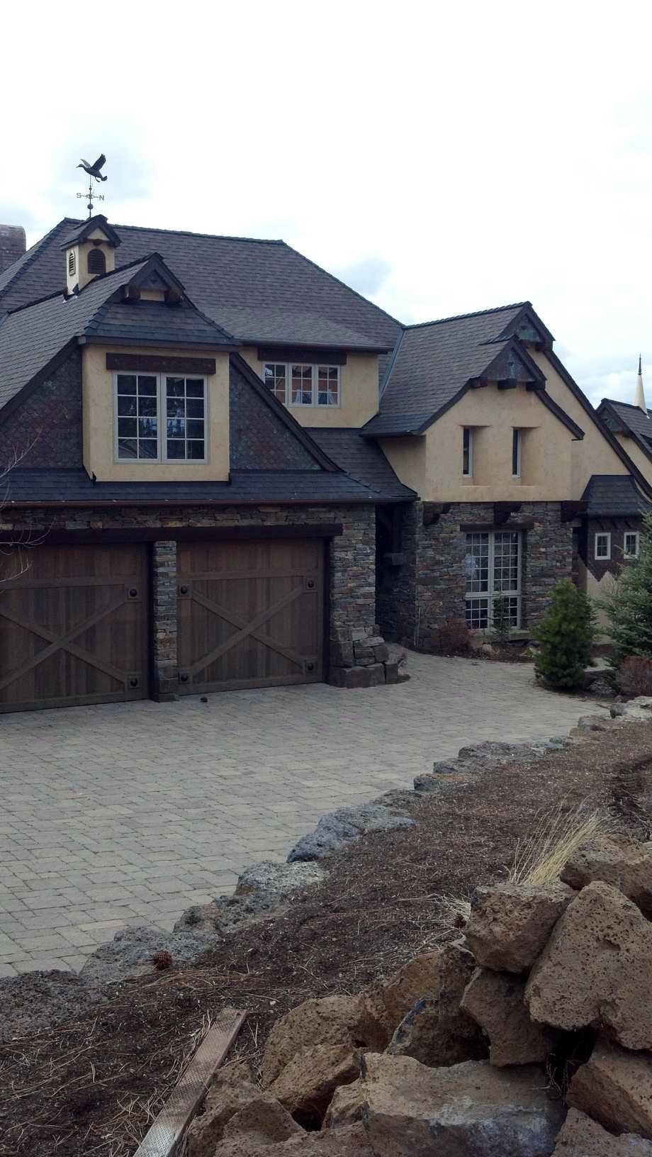 Stucco And Dry Stack Stone Home French Provincial Architecture Copper Detailing Exteriors