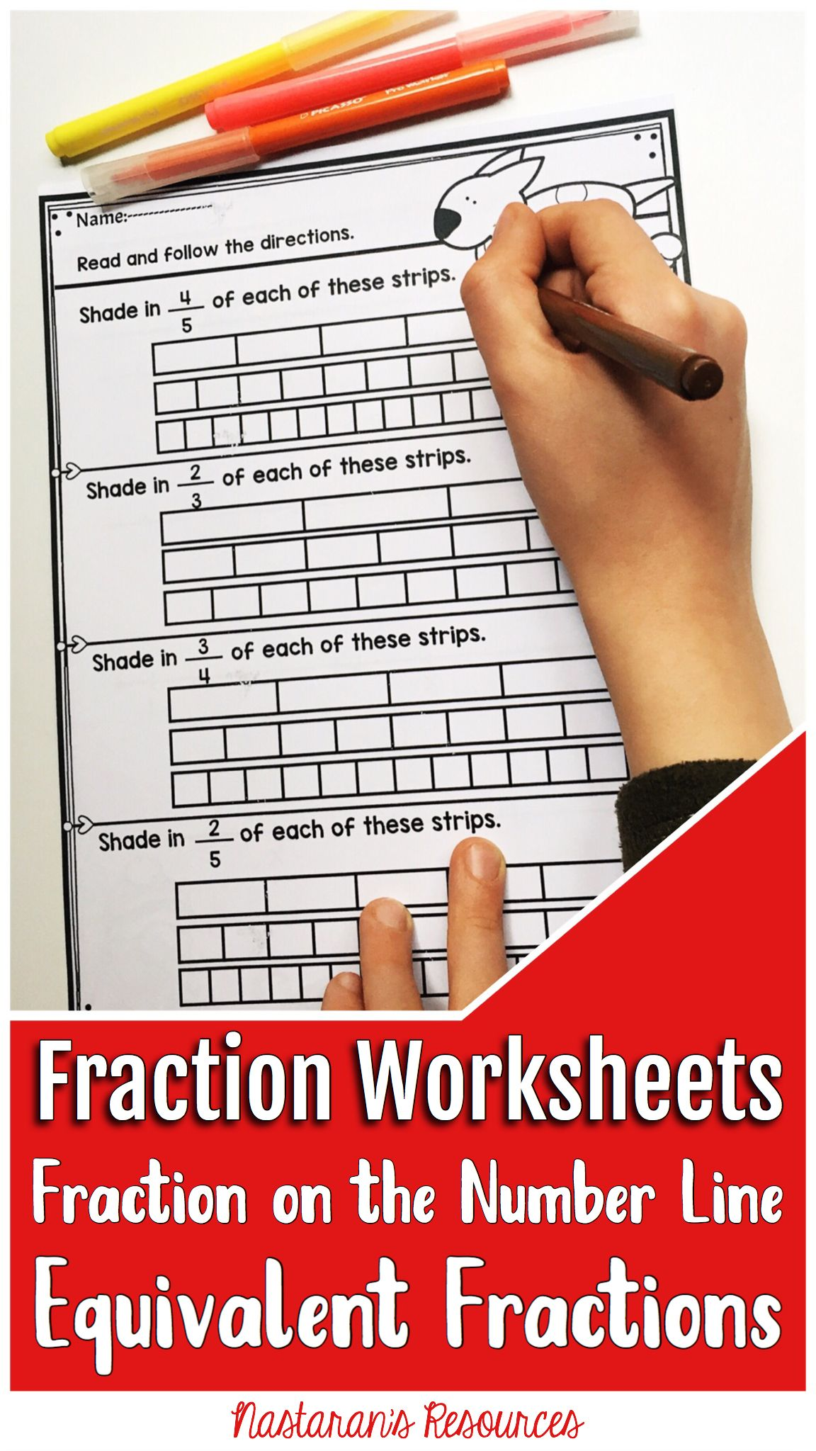 Fraction Worksheets Equal Non Equal Parts Fractions On The Number Line Equivalent Fractions Fractions Worksheets Equivalent Fractions Teaching Fractions [ 2048 x 1152 Pixel ]