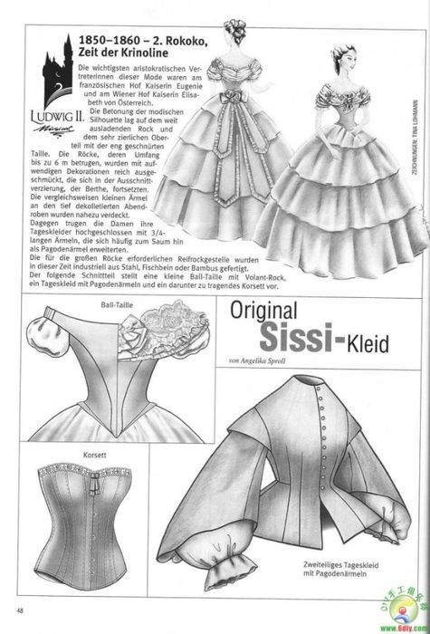 38 (475x700, 179Kb)   1850s Fashion   Gown pattern, Handmade