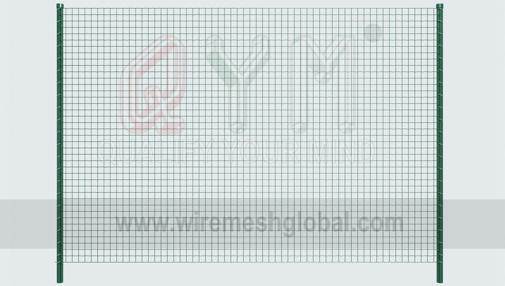 QYM-Euro Fence, a kind of welded mesh fence, has simple production ...