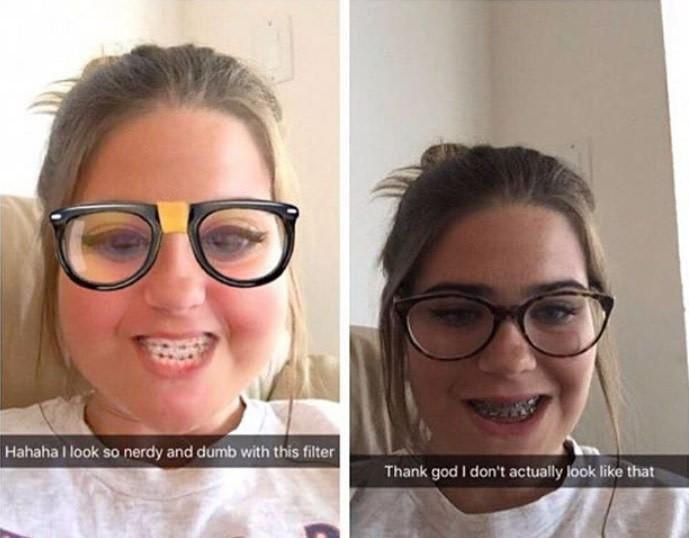 Snapchats Realistic Standards HttpiftttfEfZC Via R - 21 hilarious snapchats that made our day instantly better 6 cracked me up