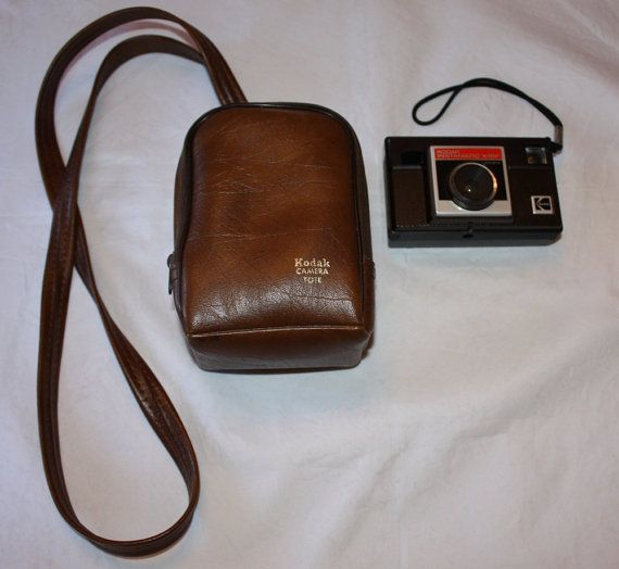 Vintage Kodak Instamatic X15F Camera with by ilovevintagestuff