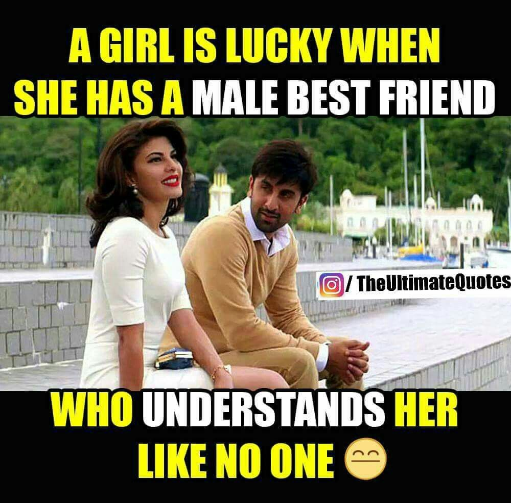 Best Male Friend Quotes: I'm Lucky As I Have A Male Best Friend Who Cares Me Alot