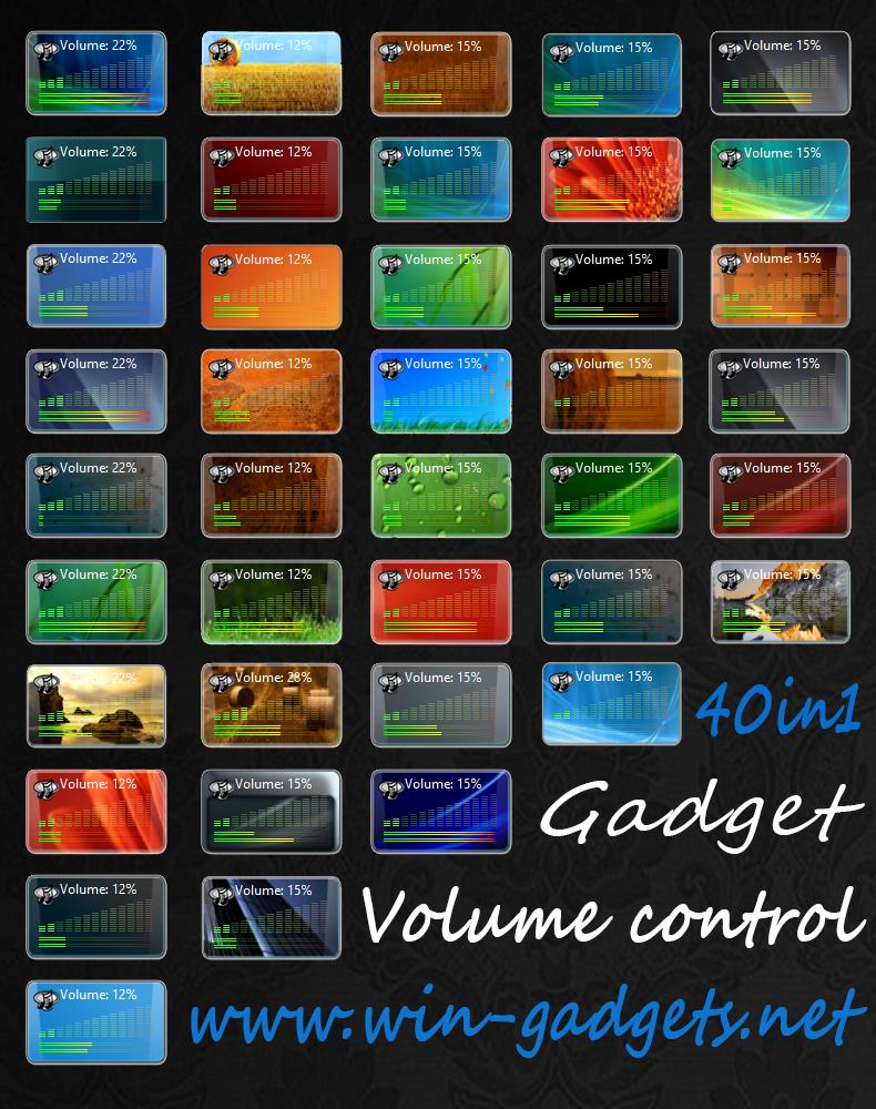 Скачать гаджеты звука для windows 7