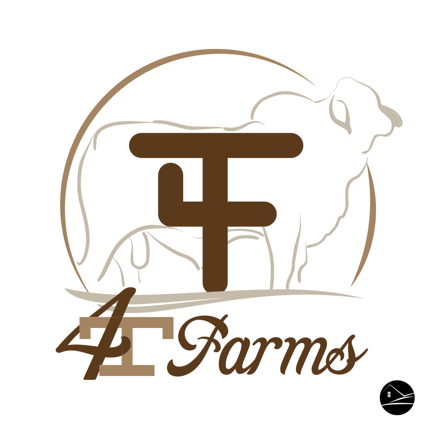 4T Farms logo design by Ranch House Designs.   Farm logo ... on country home designers, ranch interior design, lake home designers, craftsman home designers, ranch house plans, ranch floor plans, ranch painting, mediterranean home designers, ranch tools, ranch signs, ranch log homes, modern home designers, custom home designers, french home designers, ranch doors, ranch fences, ranch decks, log home designers, ranch blueprints, residential home designers,