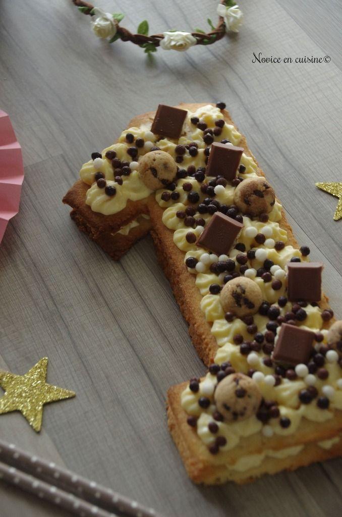Number cake au chocolat {Un an} | Gâteaux aux numéros, Chocolat et Demarle flexipan