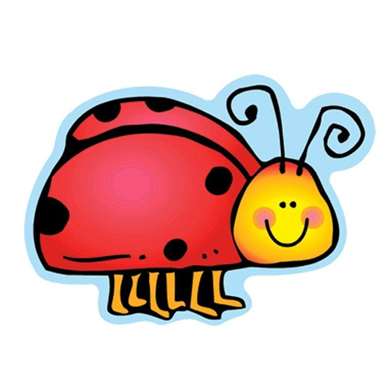 Carson Dellosa Colorful Cut Outs Ladybugs Outdoor Décor