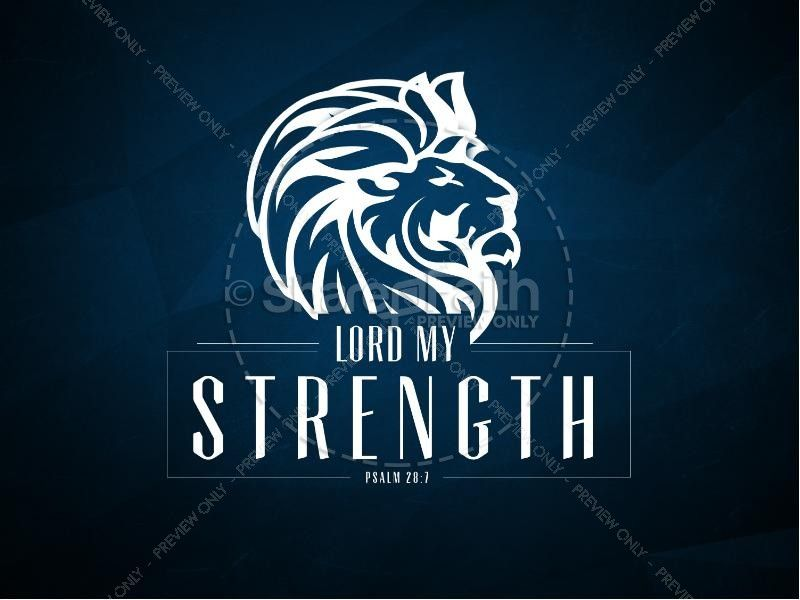 Lord my Strength Christian PowerPoint | Church PowerPoints