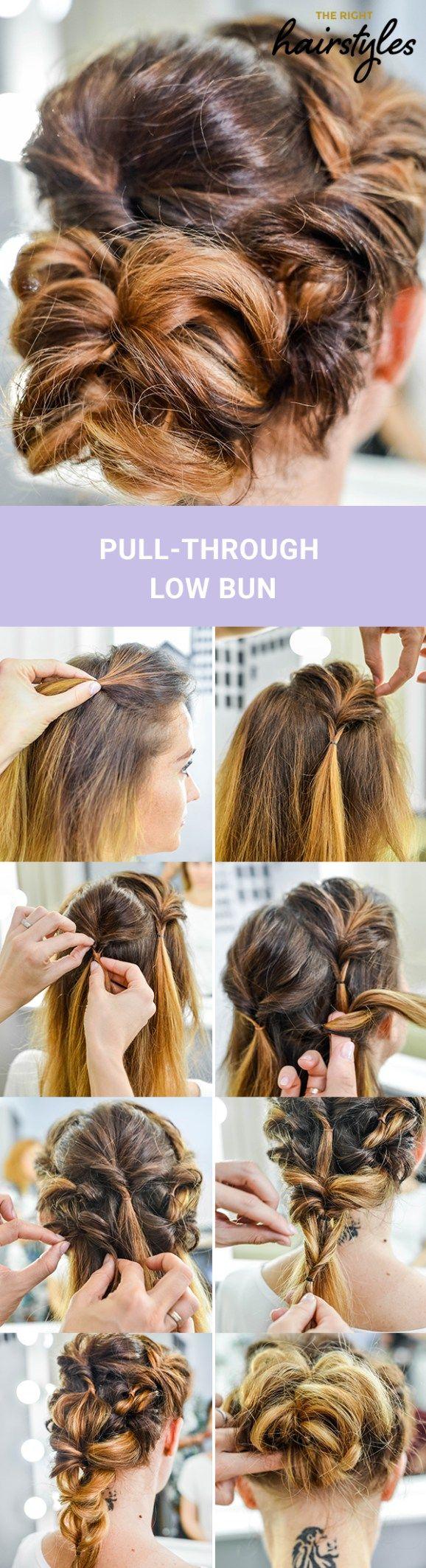 lovely bun hairstyles for fine hair in wedding pinterest