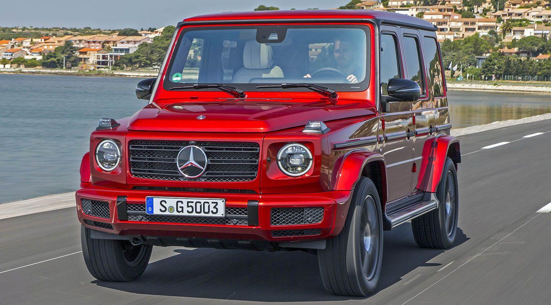 مرسيدس بنز جي كلاس الجديدة أيقونة الدفع الرباعي الفاخرة موقع ويلز Mercedes Benz G Class Suv 4x4 Mercedes