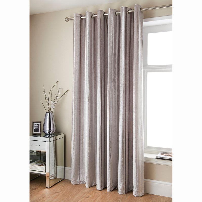 Jasmine Sparkle Velvet Curtains 46 X 54 In 2020 Curtains