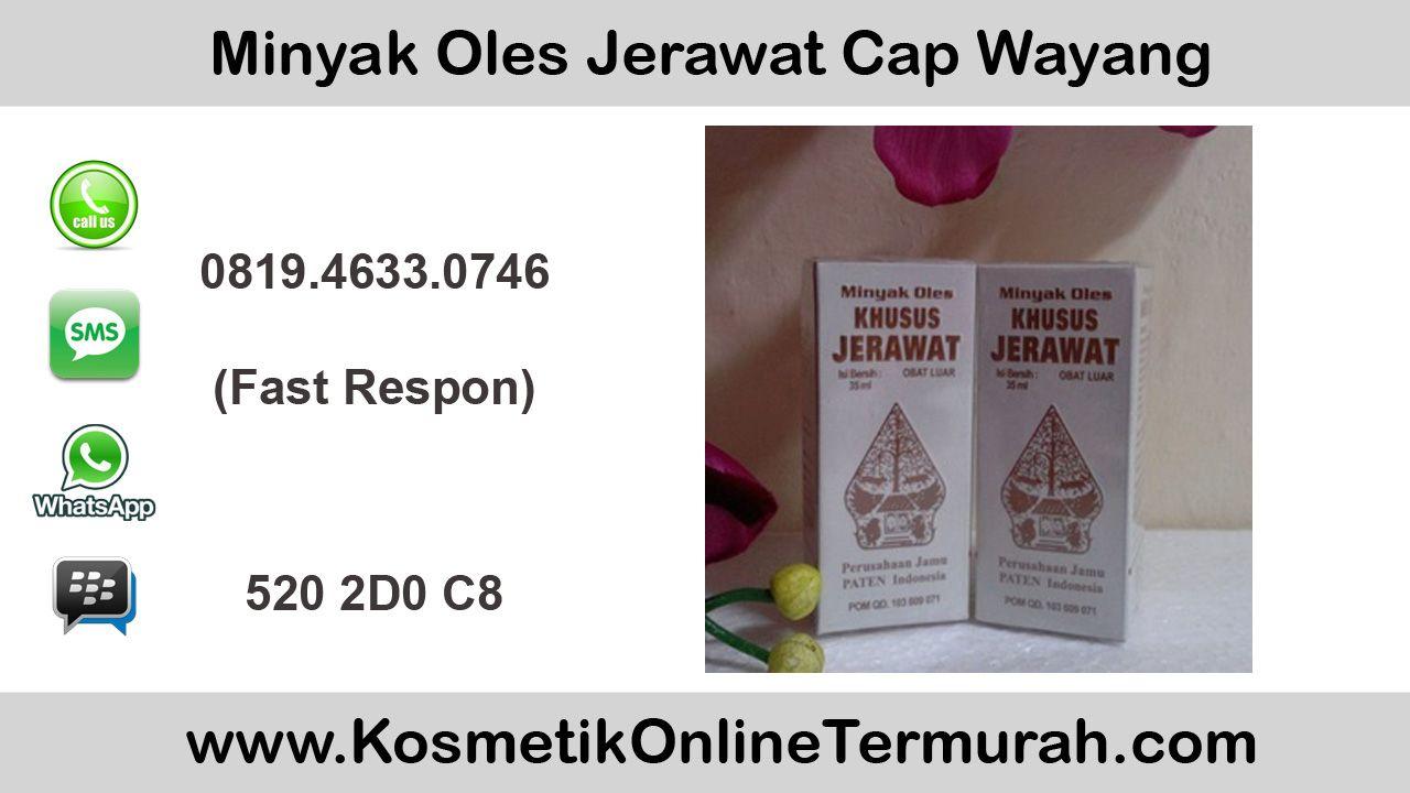 Harga Minyak Oles Jerawat Cap Wayang Di Apotik