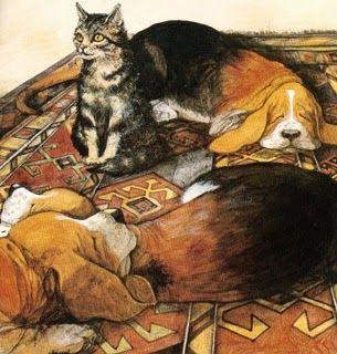 The Christmas Day Kitten, James Herriot   Illustration art, Vintage children's books, Children's ...