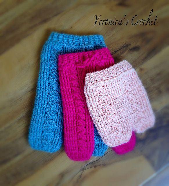 Ravelry: Cabled Pants/Shorts/Skirt Pattern pattern by Veronica Sidorenko