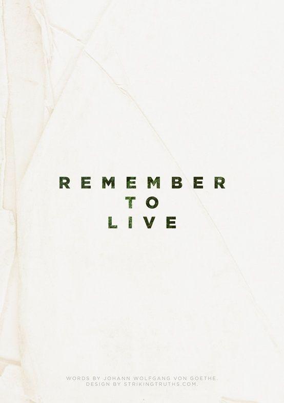 Remember  #design