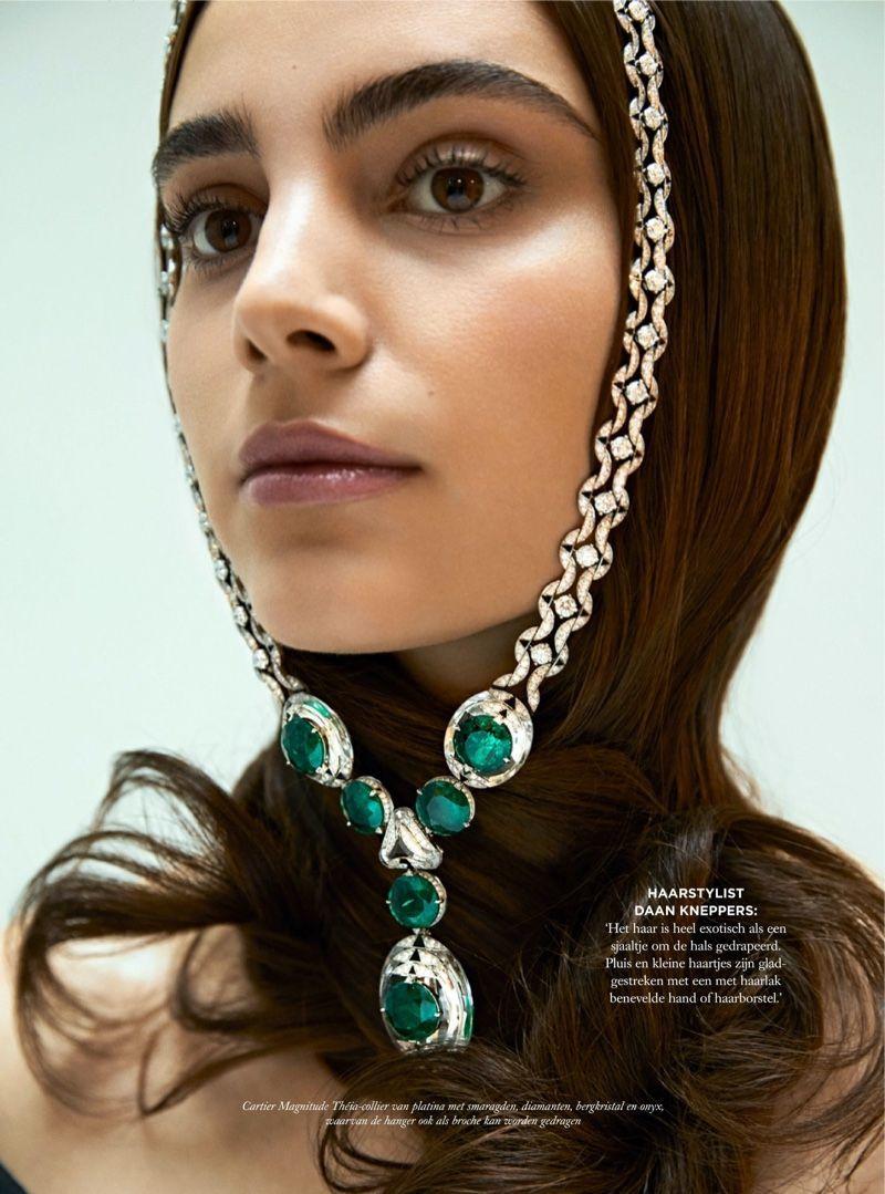 Photo of Romy Schonberger shines in Cartier for Harper's Bazaar Netherlands – Romy Sch …