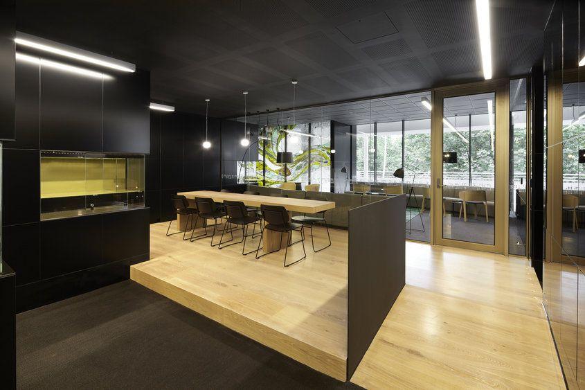 Project Latrobe University Library Lounge VIC Design Practice Darren  Carnell Architects Photography Peter Clark Project Description