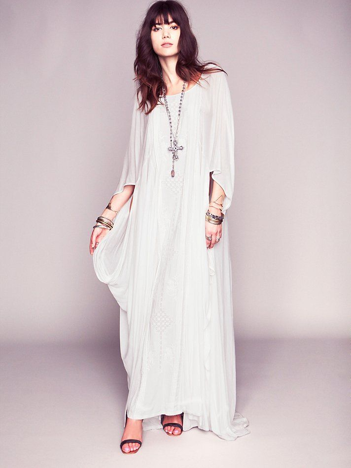 95bb7018ff5 Free People Danas Limited Edition White Story Dress
