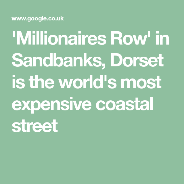 120 Poole England Sandbanks Ideas Sandbank Dream Properties England