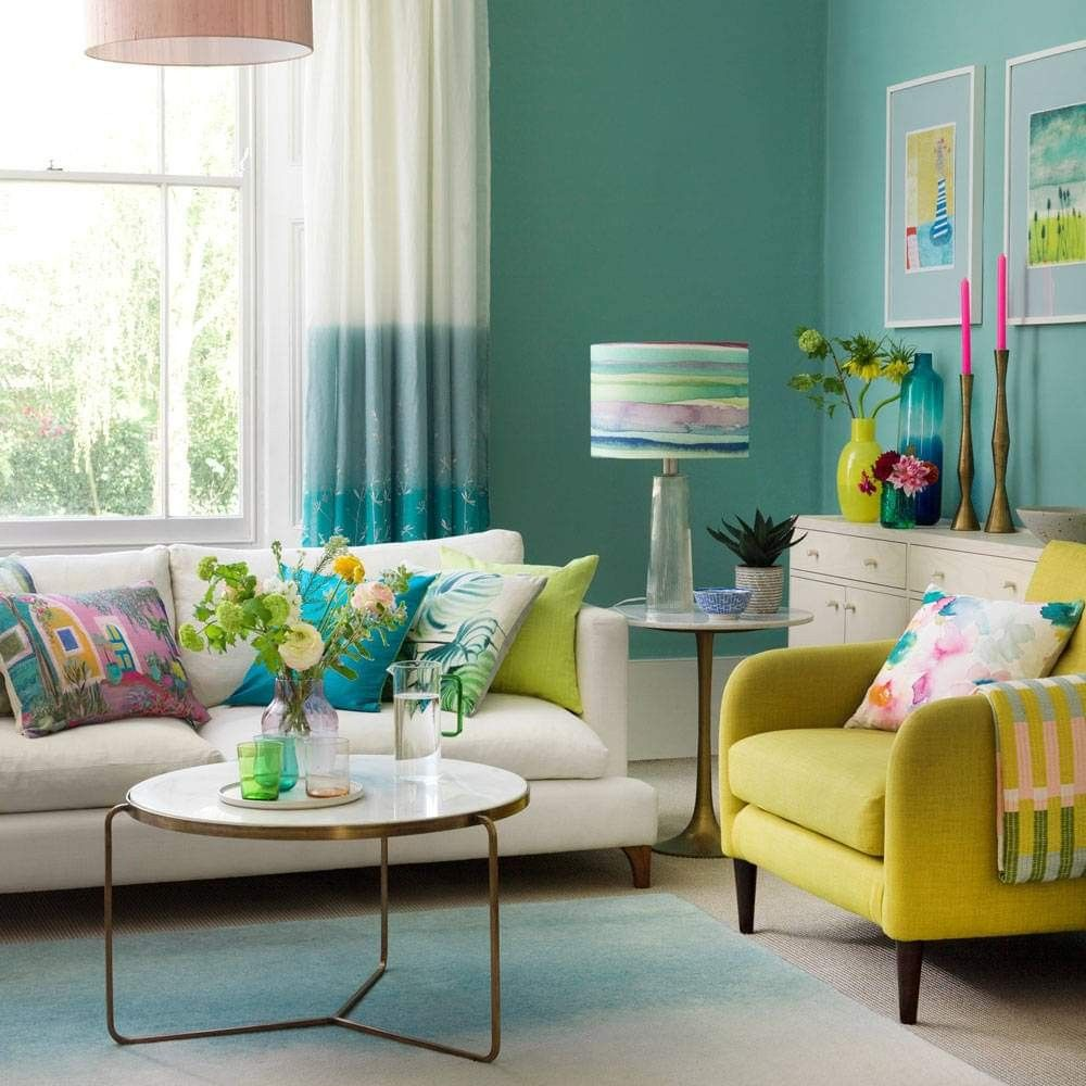 Pin By Enas Abdallah On Sweet Home Living Room Turquoise Room Color Combination Turquoise Living Room Decor