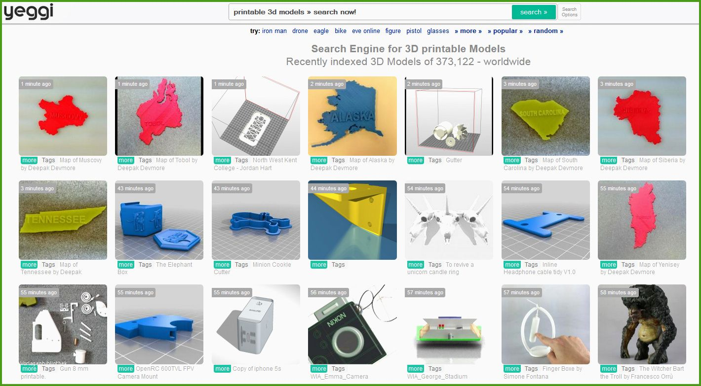 3d Drucker Vorlagen Kostenlos Download 3d Printable Models