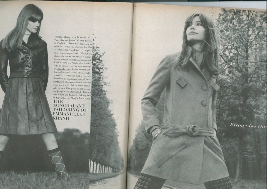 F.H in Mode der 60er