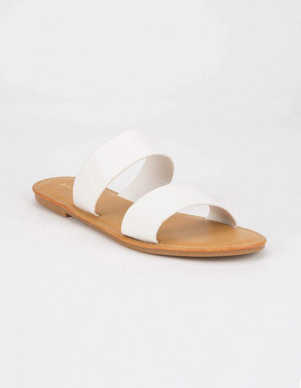 womens sandals, White strappy sandals