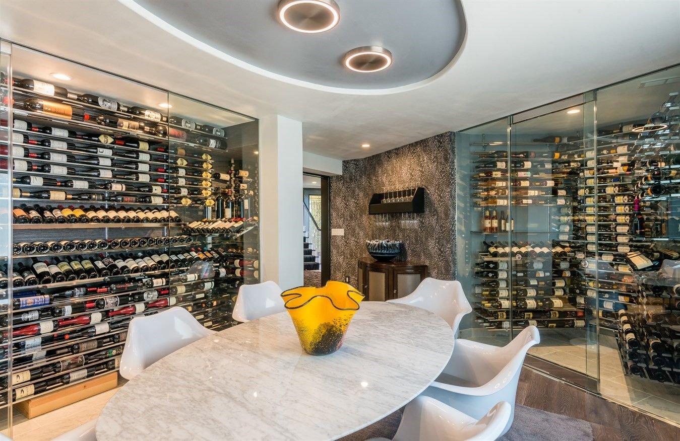 Climate Controlled 1 500 Bottle Wine Cellar With Wine Room Wine