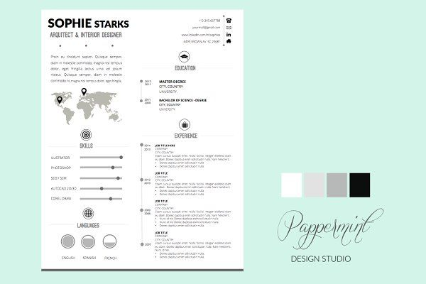 How To Create A Cover Letter Resume  Cover Letter Power Point  Branding  Resume  Pinterest .