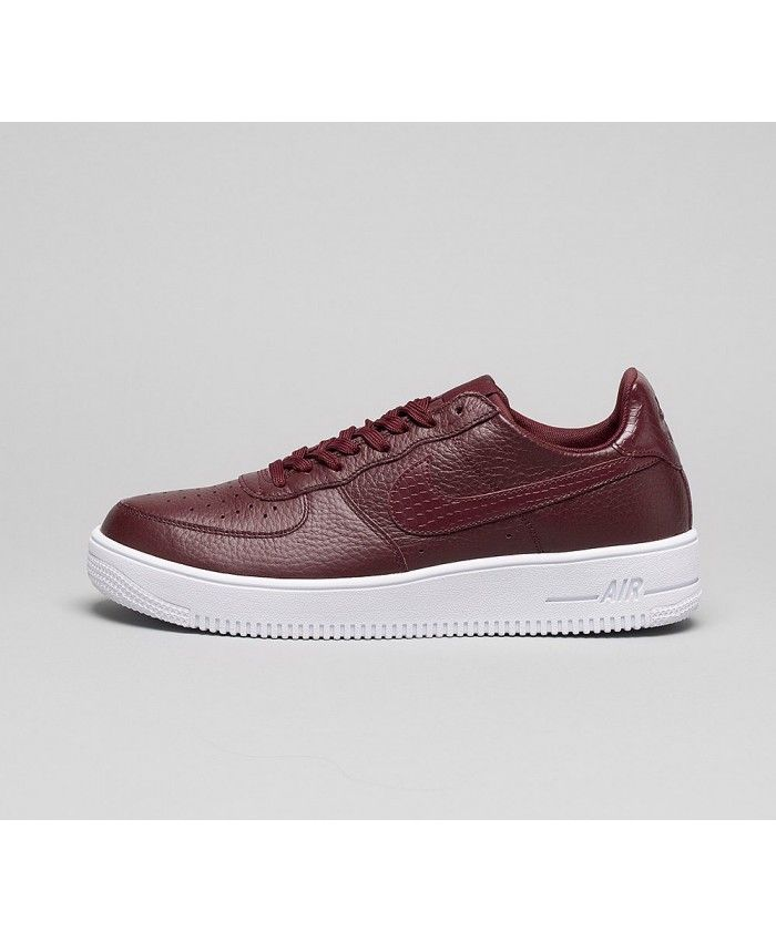Nike Air Force 1 Ultraforce Chaussures Rouge Blanc   nike air force ... 6e483e82ec47