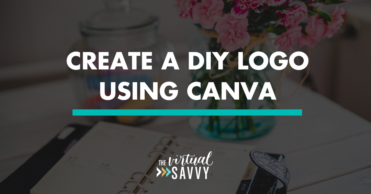 Create A DIY Logo Using Canva Make your own logo
