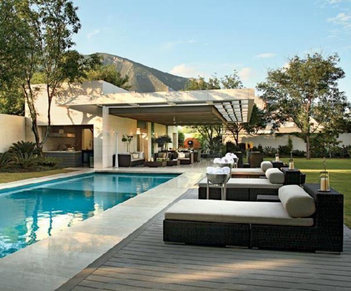 25 Best Modern Outdoor Design Ideas Modern Pools Pool Lounger