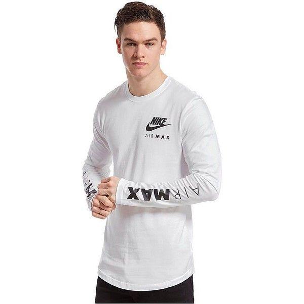 vistazo Fabricación contraste  Nike Air Max Long Sleeved T-Shirt | Long sleeve tshirt men, Mens outfits,  Mens shirts