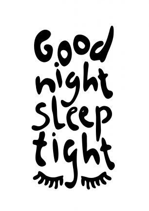 Good night, sleep tight! ((c) Nons illustraties - www.nons.nl)