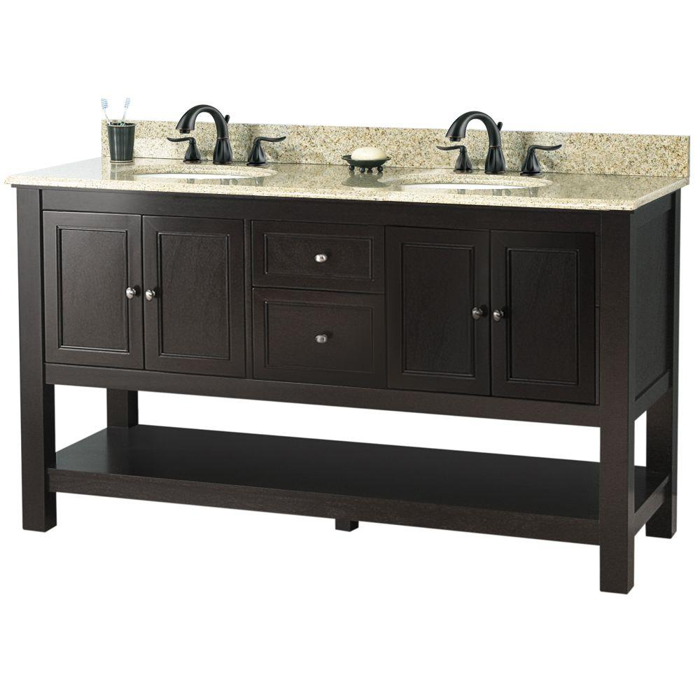 61 Inch Vanity Top Single Sink