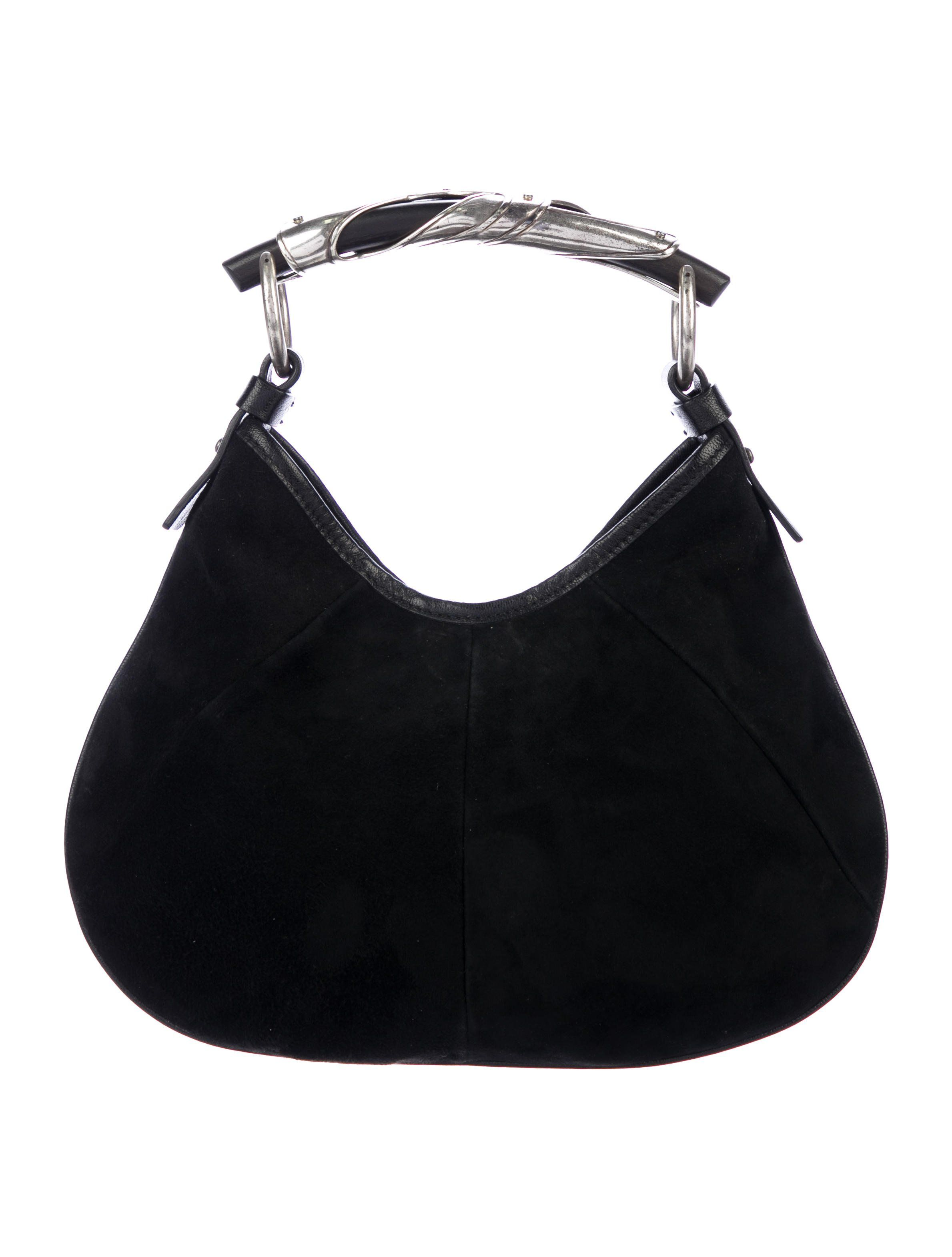 8a1257f07382 Mini Mombasa bag in black suede