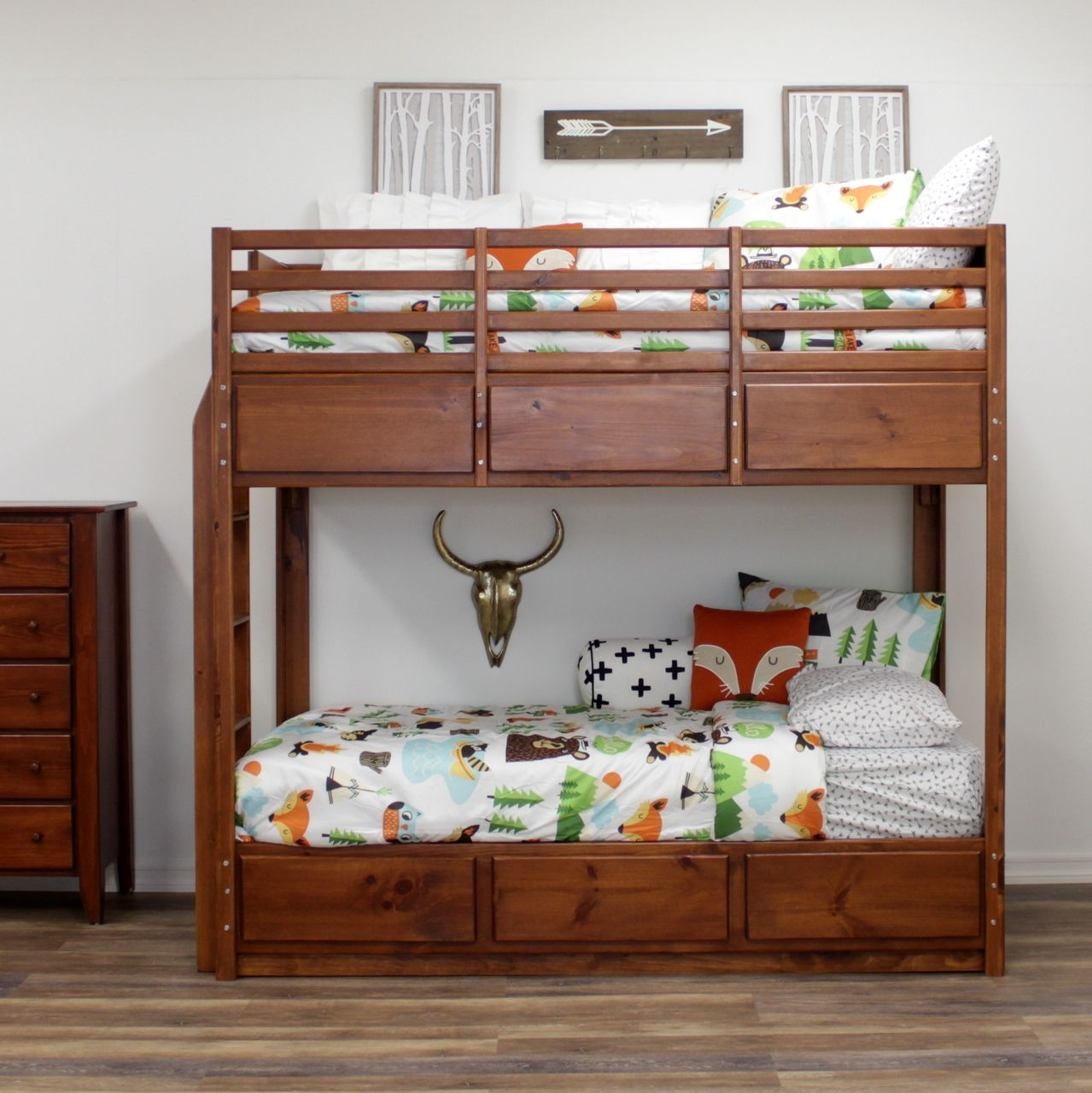 Gothic Cabinet Craft Special Twin Bunk Bed 6 Drawers 899 00 Https Www Gothiccabinetcraft Com Special Twin