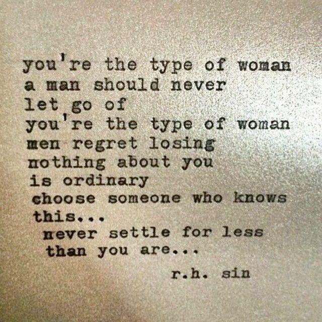 Why do women settle for less