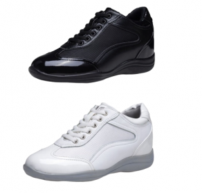 حذاء جاومودا الطبي لزياده الطول All Black Sneakers Black Sneaker Sneakers