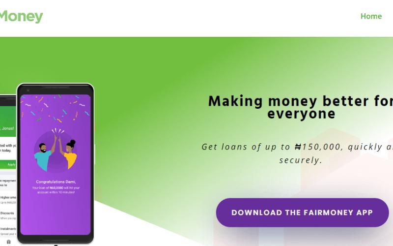 Fairmoney Loan App Apk Download for Android Fairmoney