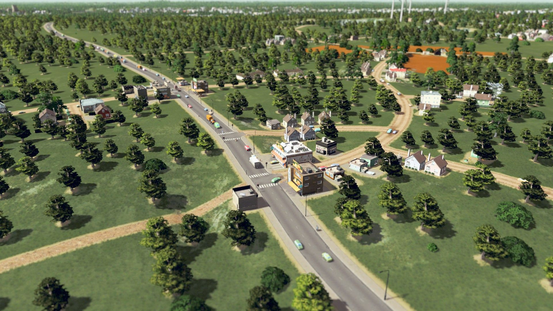 Cities Skylines Realistic Looking Town City Skyline City Skylines Game City Layout