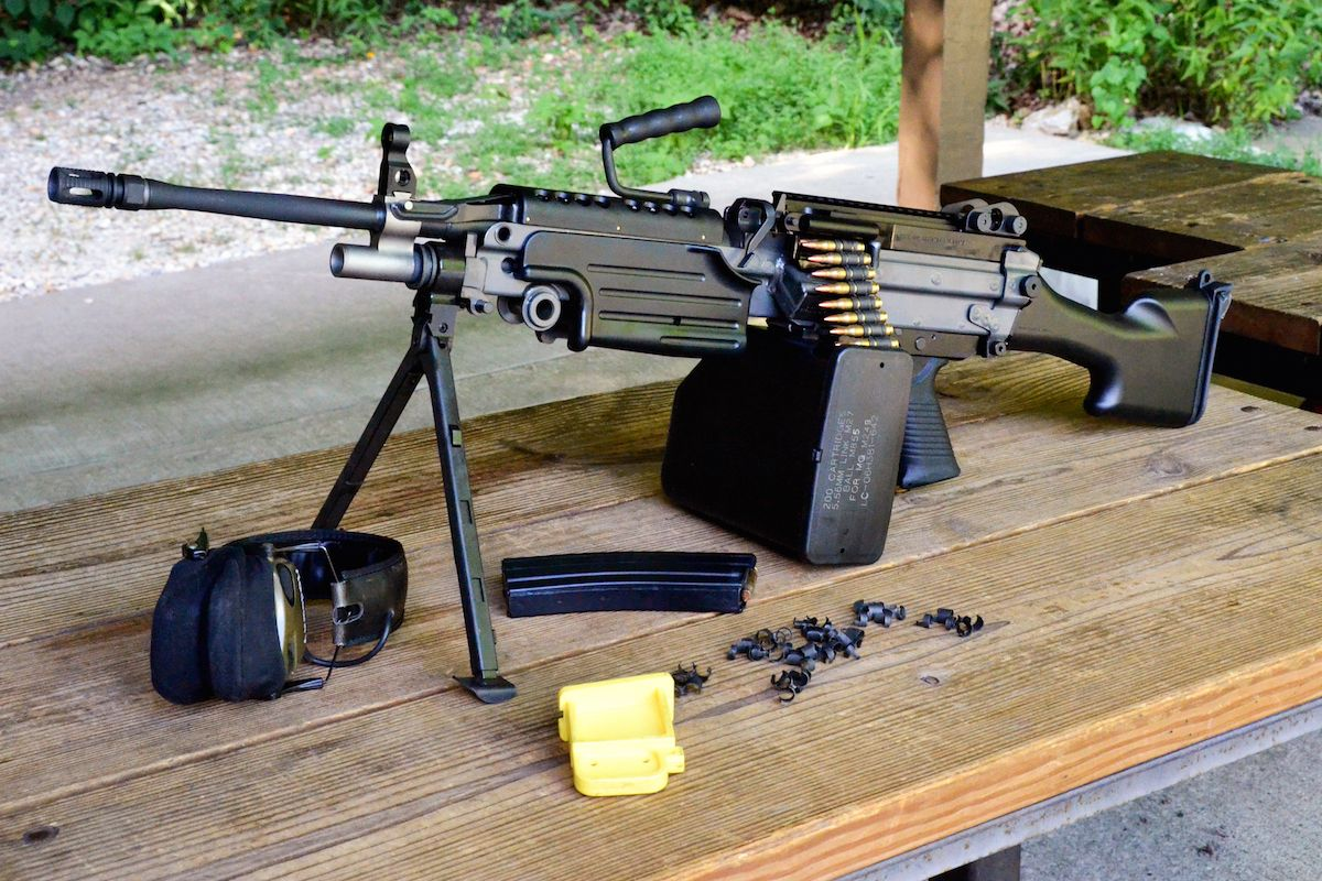 The New 5 56 M249s From Fn Usa Delivers A Semi Auto