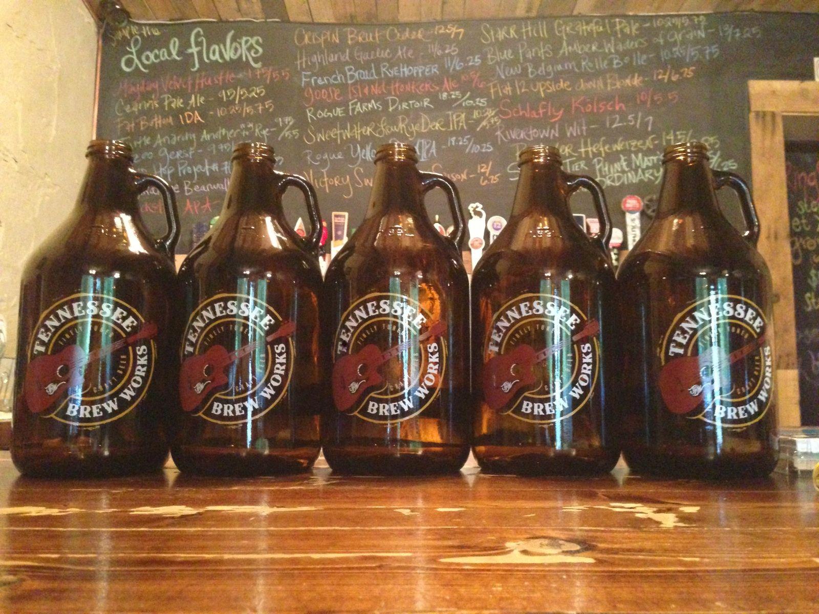 Tennessee Brew Works Nashville Tn Beer Growler Beer Mugs